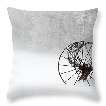 Out Of The Mist A Forgotten Era II Throw Pillow