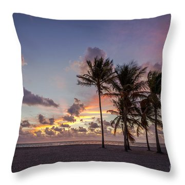 Out Of The Sky Came The Lights Throw Pillow