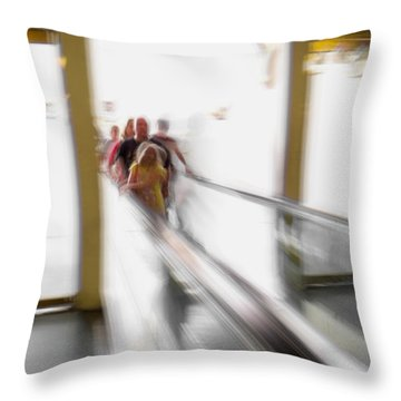 Out Of Thin Air Throw Pillow