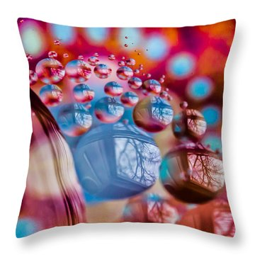 Out Of This World Throw Pillow by Sara Frank