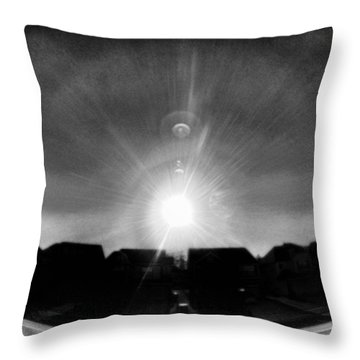 Out The Window Throw Pillow by J Riley Johnson