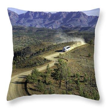 Outback Tour Throw Pillow