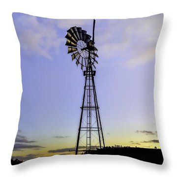 Outback Windmill Throw Pillow
