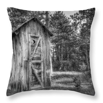 Outdoor Plumbing Throw Pillow