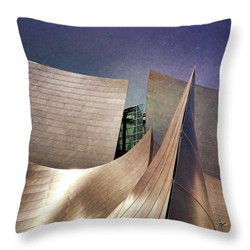 Outer Planes Throw Pillow