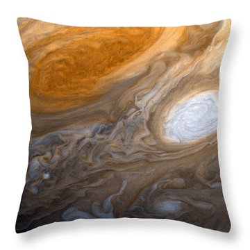 Outer Space Two Six Four Throw Pillow by Nasa Usgs