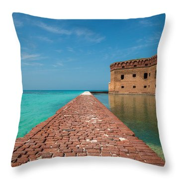 Outer Walk Throw Pillow