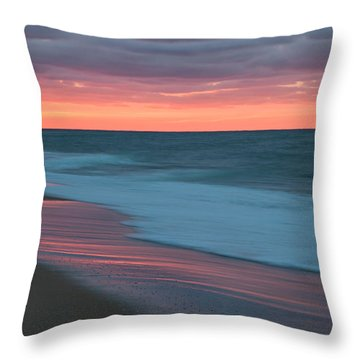 Outgoing Surf Throw Pillow