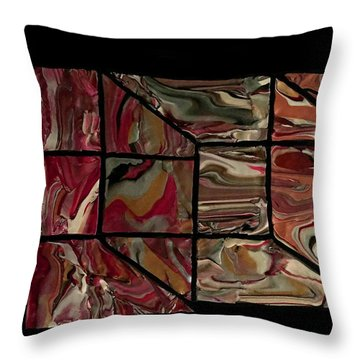 Outside The Box I Throw Pillow