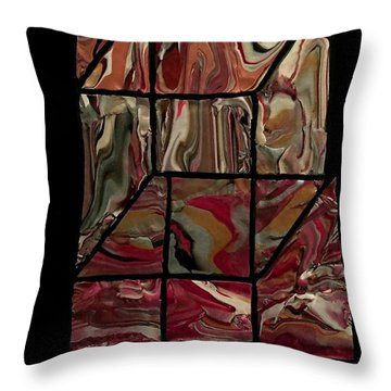 Outside The Box II Throw Pillow