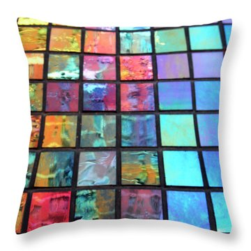 Outside The Box Throw Pillow by Tony Cordoza