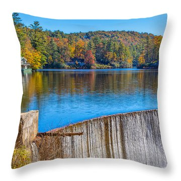 Outskirts Of Highland Throw Pillow