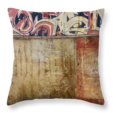 Over My Head Throw Pillow by Carol Leigh