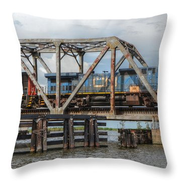 Over Pass Manchac Throw Pillow
