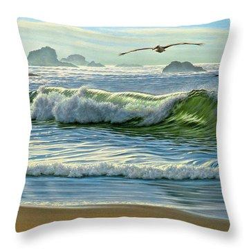 Pelican Throw Pillows