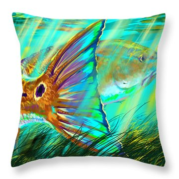 Camera Art Throw Pillows