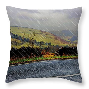 Over The Tops Throw Pillow