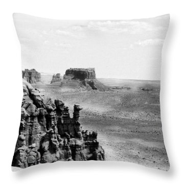 Over There Throw Pillow by Tarey Potter