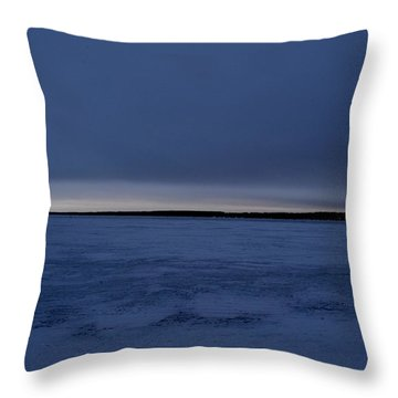 Throw Pillow featuring the photograph Overcast Sunrise 3  by Lyle Crump