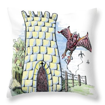 Overcome Evil With Good Throw Pillow by Tanya Provines