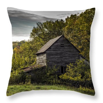 Overgrown Throw Pillow by Amber Kresge