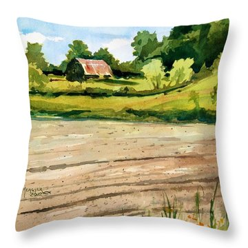 Overgrown Throw Pillow by Spencer Meagher
