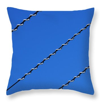 Overhead Throw Pillow by Wendy Wilton