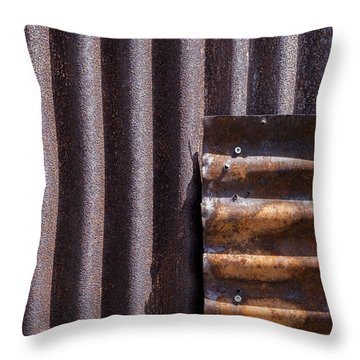 Overlap Throw Pillow by Fran Riley