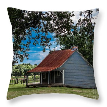 Overseers House  Throw Pillow