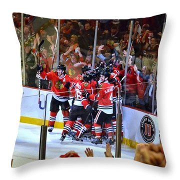 Overtime Game Winner Throw Pillow