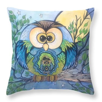 Owl Take Care Of You Throw Pillow