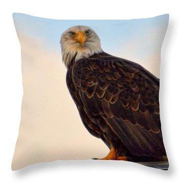 Owlish I Throw Pillow