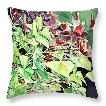 Oxalix Tangle Throw Pillow
