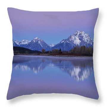 Oxbow Bend Sunrise 1 Throw Pillow