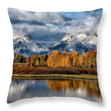 Oxbow Morning Throw Pillow