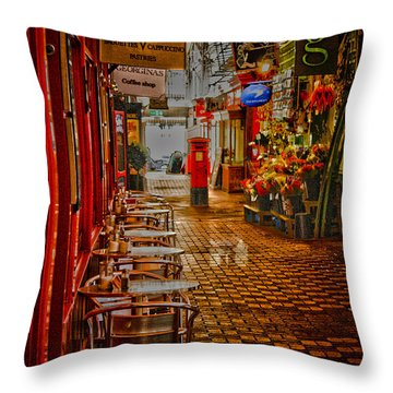 Oxford Covered Market Hdr Throw Pillow