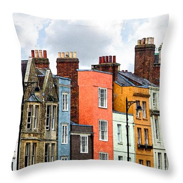 Oxford Medley Throw Pillow by William Beuther