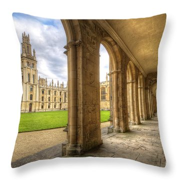 Oxford University - All Souls College 2.0 Throw Pillow