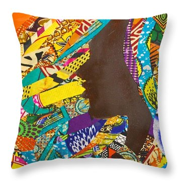Oya I Throw Pillow
