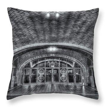 Oyster Bar Restaurant II Throw Pillow