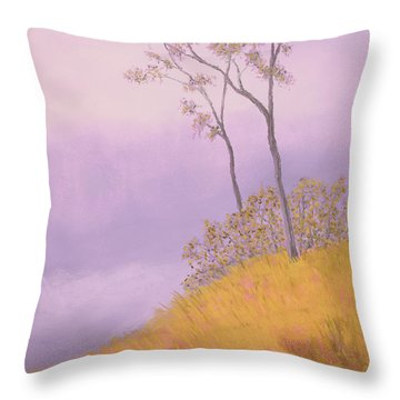 Ozark Glade Throw Pillow by Garry McMichael