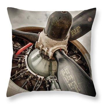P-17 Prop Throw Pillow