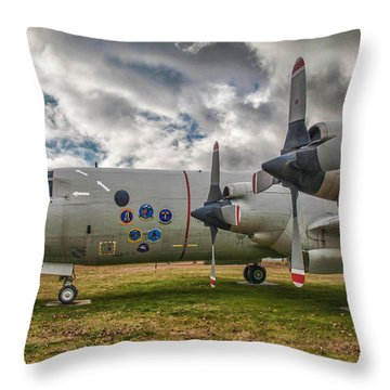 P-3a Throw Pillow by Guy Whiteley