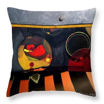 p HOT 115 Throw Pillow by Marlene Burns