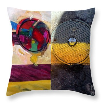 p HOTography 112 Throw Pillow by Marlene Burns