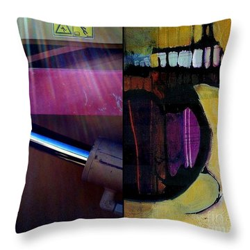 p HOTography 135 Throw Pillow by Marlene Burns