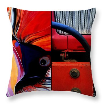 p HOTography 163 Throw Pillow by Marlene Burns