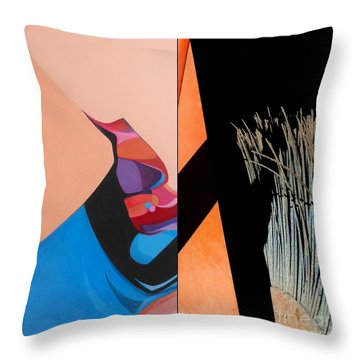 p HOTography 165 Throw Pillow by Marlene Burns