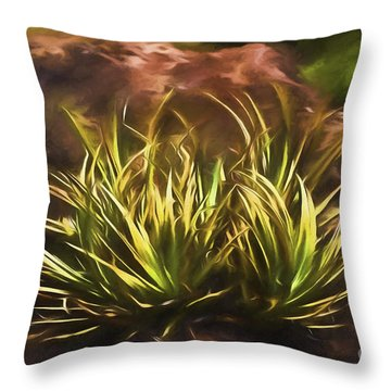 Throw Pillow featuring the photograph Pacific  ... by Chuck Caramella