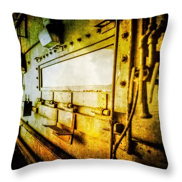 Pacific Airmotive Corp 05 Throw Pillow